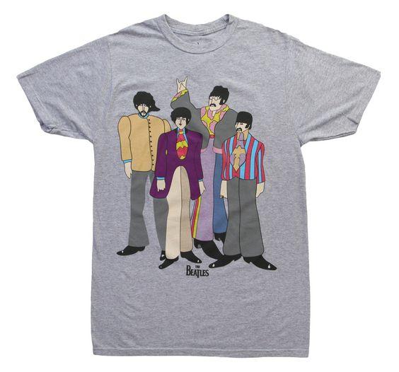 Beatles Yellow Submarine T-Shirt DN24D