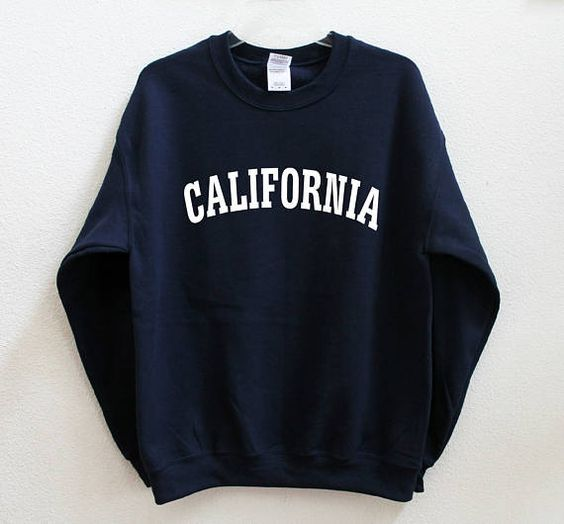 California Graphic Sweatshirt D9VL