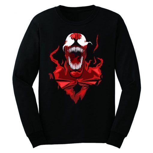 Carnage Spider Man Sweatshirt VL3D