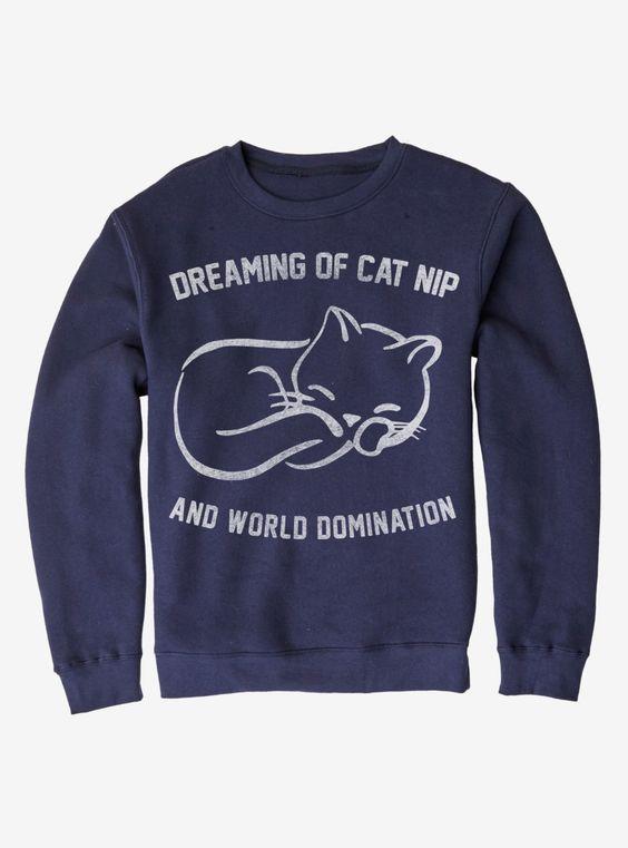 Cat Nip Sweatshirt AZ5D