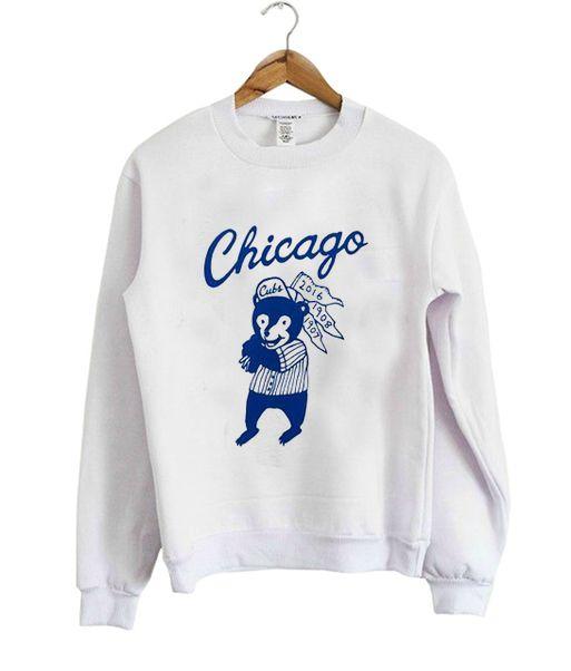 Chicago Cubs Sweatshirt VL3D