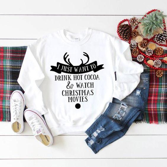 Christmas Holiday Christmas Sweatshirt D9VL