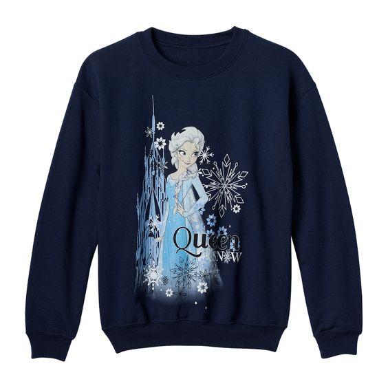 Disney Girls Frozen Sweatshirt VL3D