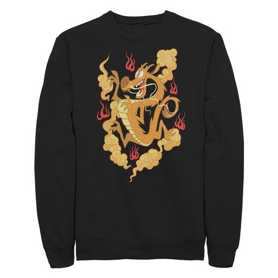 Disney Mulan Mushu Sweatshirt VL3D
