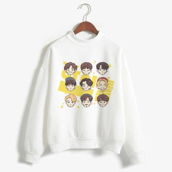 EXO Kids Sweatshirt AZ5D