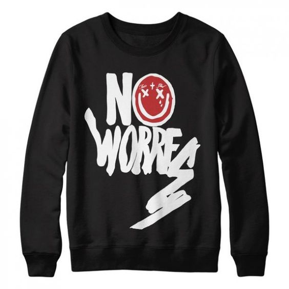No Worries Sweatshirt VL3D