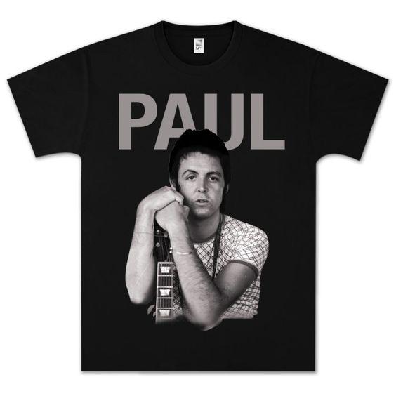 Paul McCartney Vintage Paul T-Shirt DN24D