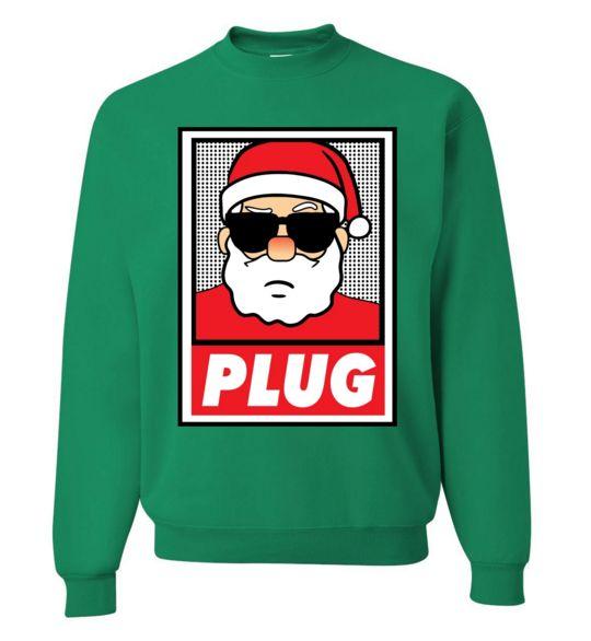 Santa Plug Sweatshirt D9VL