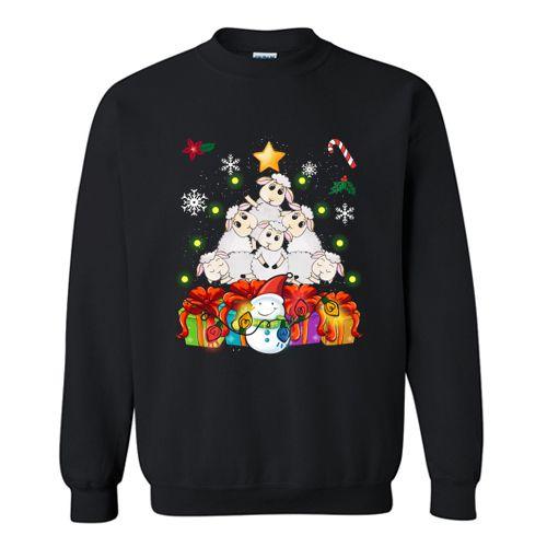 Sheep Christmas Sweatshirt EM2D