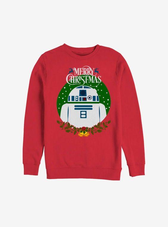 Star Wars Merry Christmas Sweatshirt D9VL