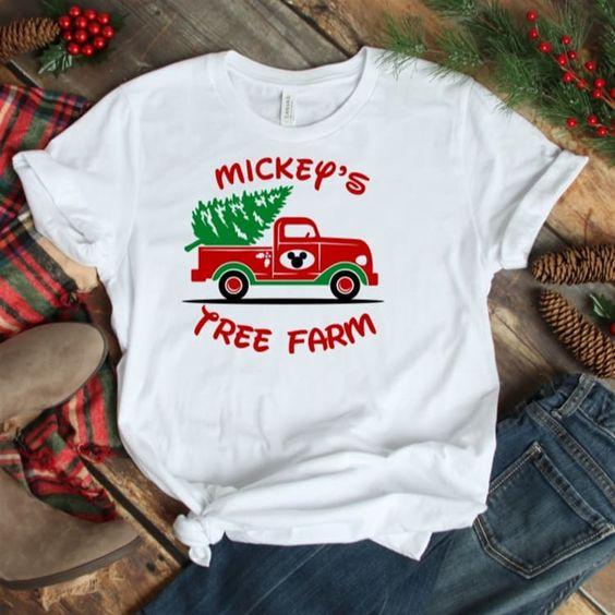 Theme Park Christmas T-Shirt EM6D