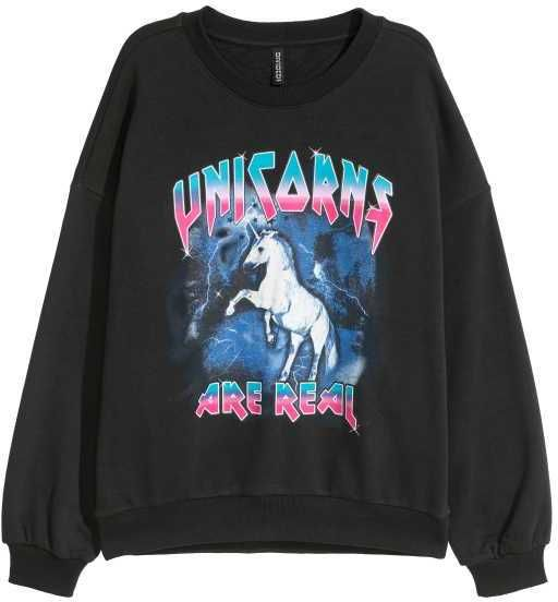 Unicors Are Real Sweatshirt VL3D