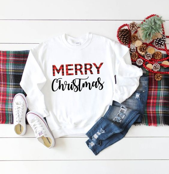 Womens Christmas Sweatshirt D9VL