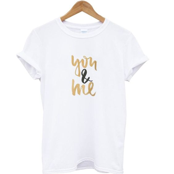 You & Me T-shirt AR21D