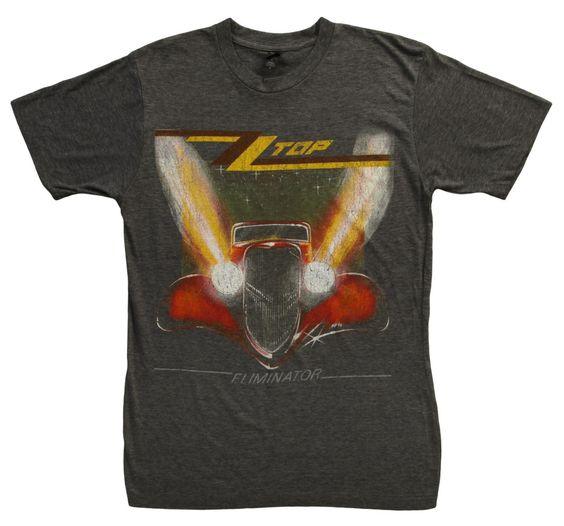 ZZ Top Eliminator T-Shirt DN24D