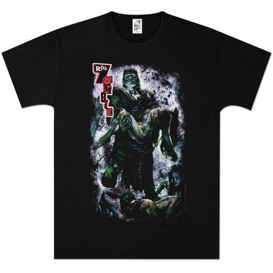 Zombie Frankie T-Shirt DN24D