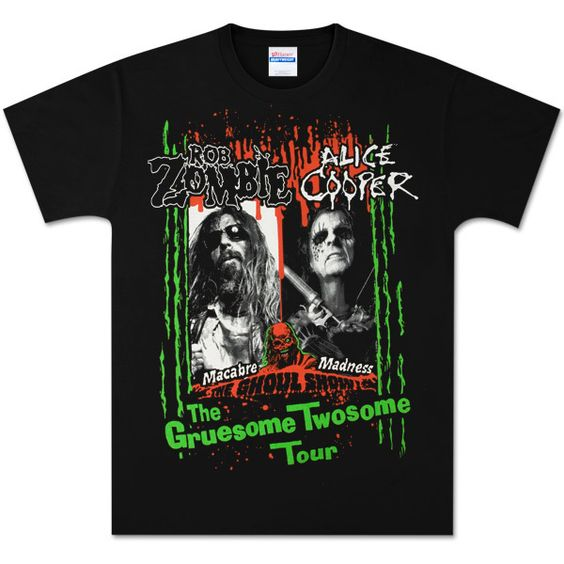Zombie Gruesome Twosome Event T-Shirt DN24D