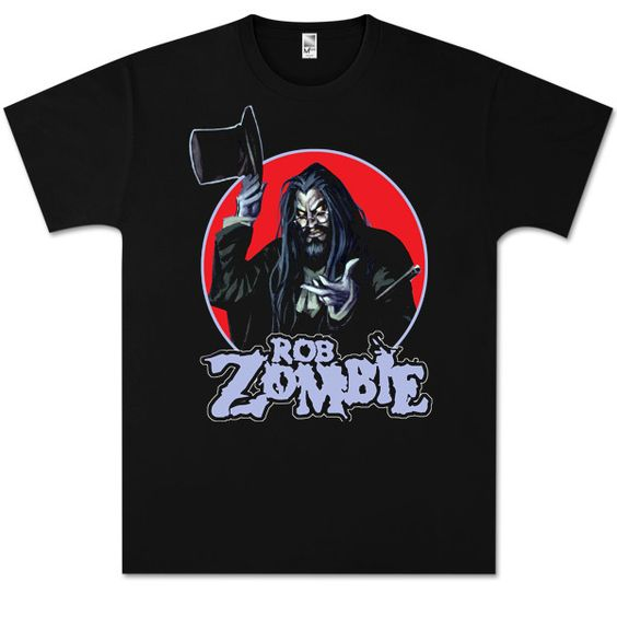 Zombie Magician Black T-Shirt DN24D
