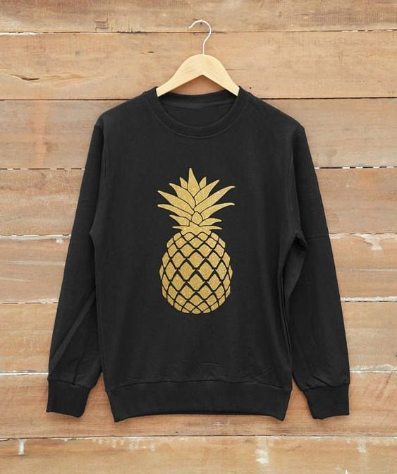 pineapple sweatshirt EV20D