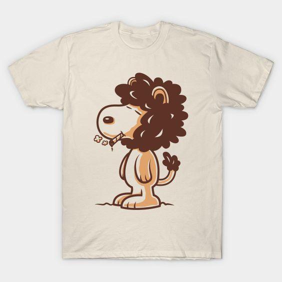 A Peanuts Snoopy t-shirt DL02J