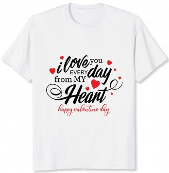 Be special in valentine's T-Shirt DL14J0