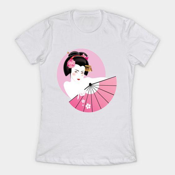 Japan Geisha Tshirt DL2J0