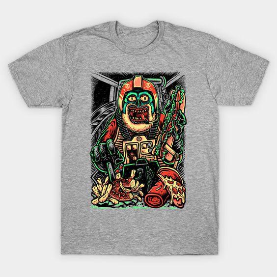 Zombie Pilot T-Shirt DL02J