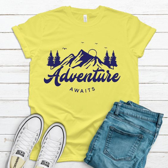 Adventure Awaits T Shirt SR27F0