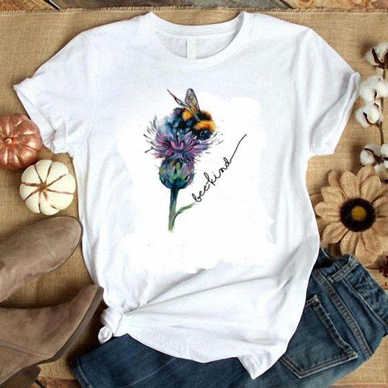Be Kind The Flower Tshirt EL8F0