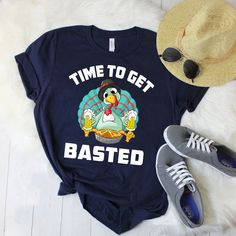 Time To Get Basted Tshirt EL8F0