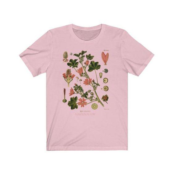 Vintage Botanical Tshirt ZR29F0