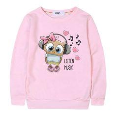 Cute Music Owl Sweatshirt TA28M0
