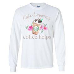 Life Happens Sweatshirt TA28M0