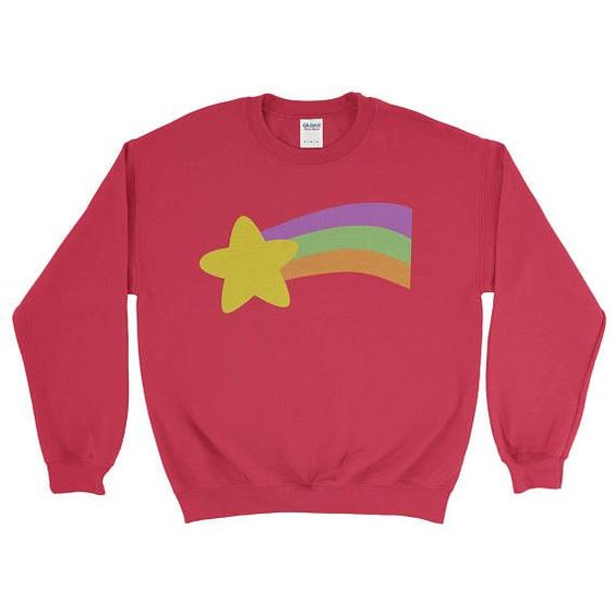 Rainbow Wish List Sweatshirt DF24M0