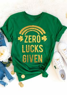 Zero Lucks Given Tshirt LI3M0