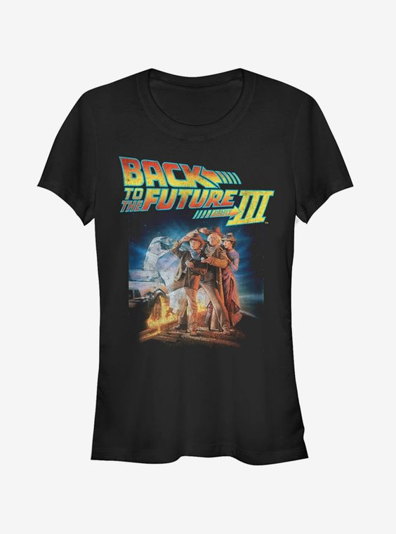 Back TO The Future 3 T Shirt AN18A0