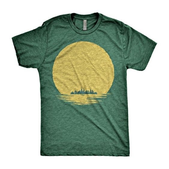 View Chicago Skyline T-Shirt ND9A0