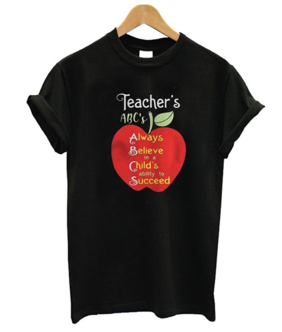 Apple Teacher Tshirt TY9JN0