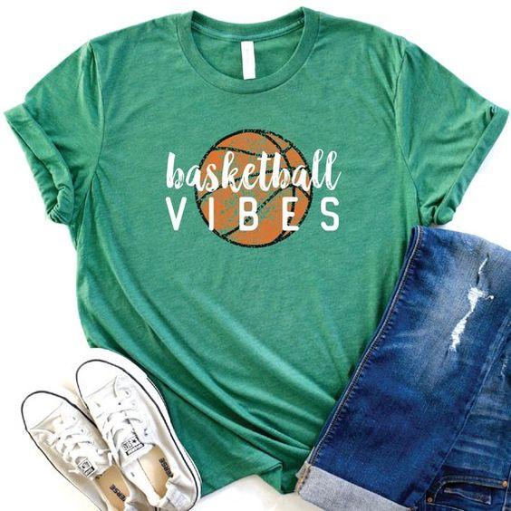 Basketball Vibes Tshirt TY9JN0