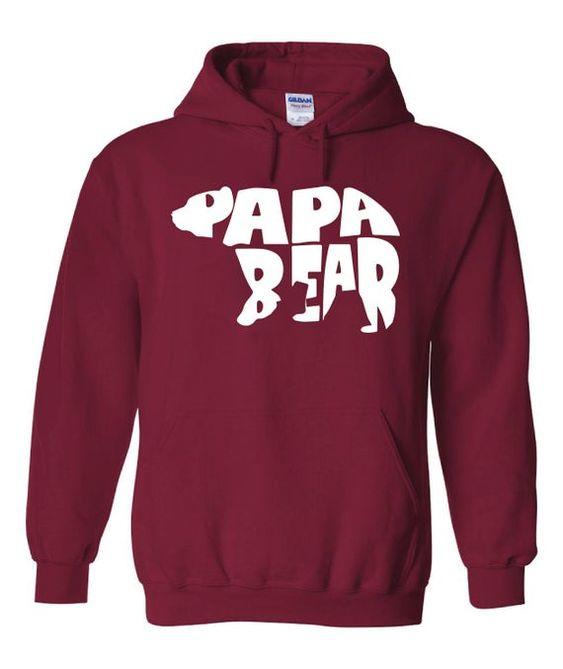 Papa bear Hoodie AL30JN0