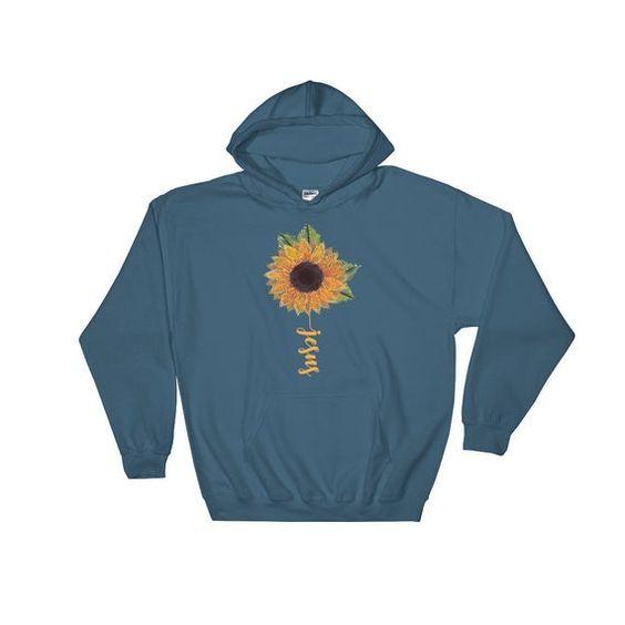 Sunflower jesus Hoodie AL30JN0