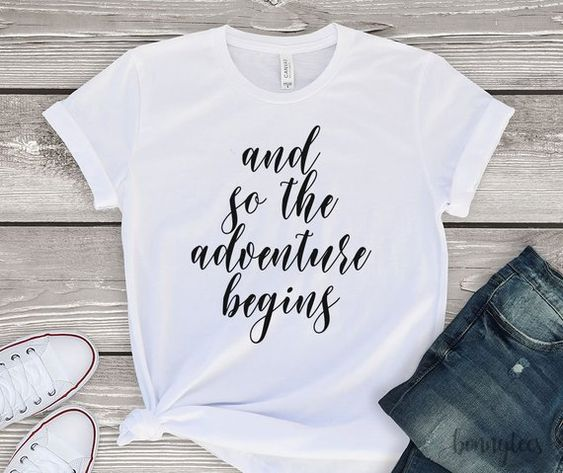 Adventure begins T-Shirt AL30JL0