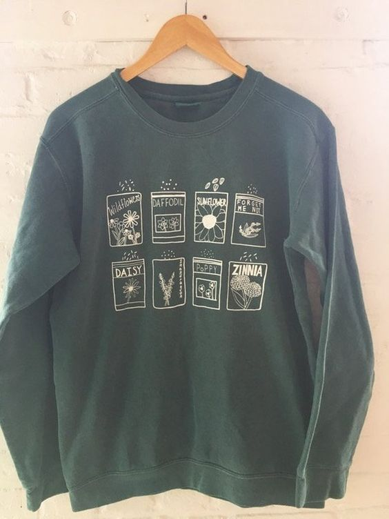 Flower Garden Sweatshirt SR7JL0