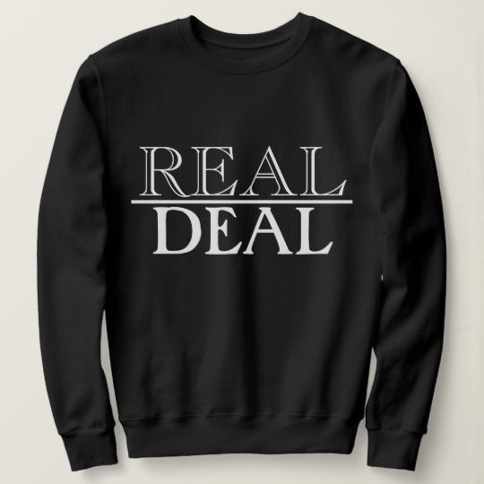 Real Deal Sweatshirt SR7JL0