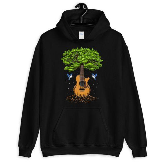 Acoustic Guitar Tree Hoodie AL20AG0