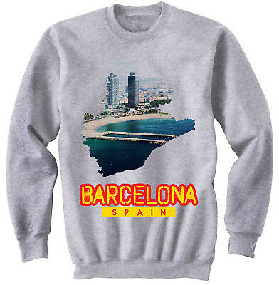 Barcelona Spain Sweatshirt AL28AG0