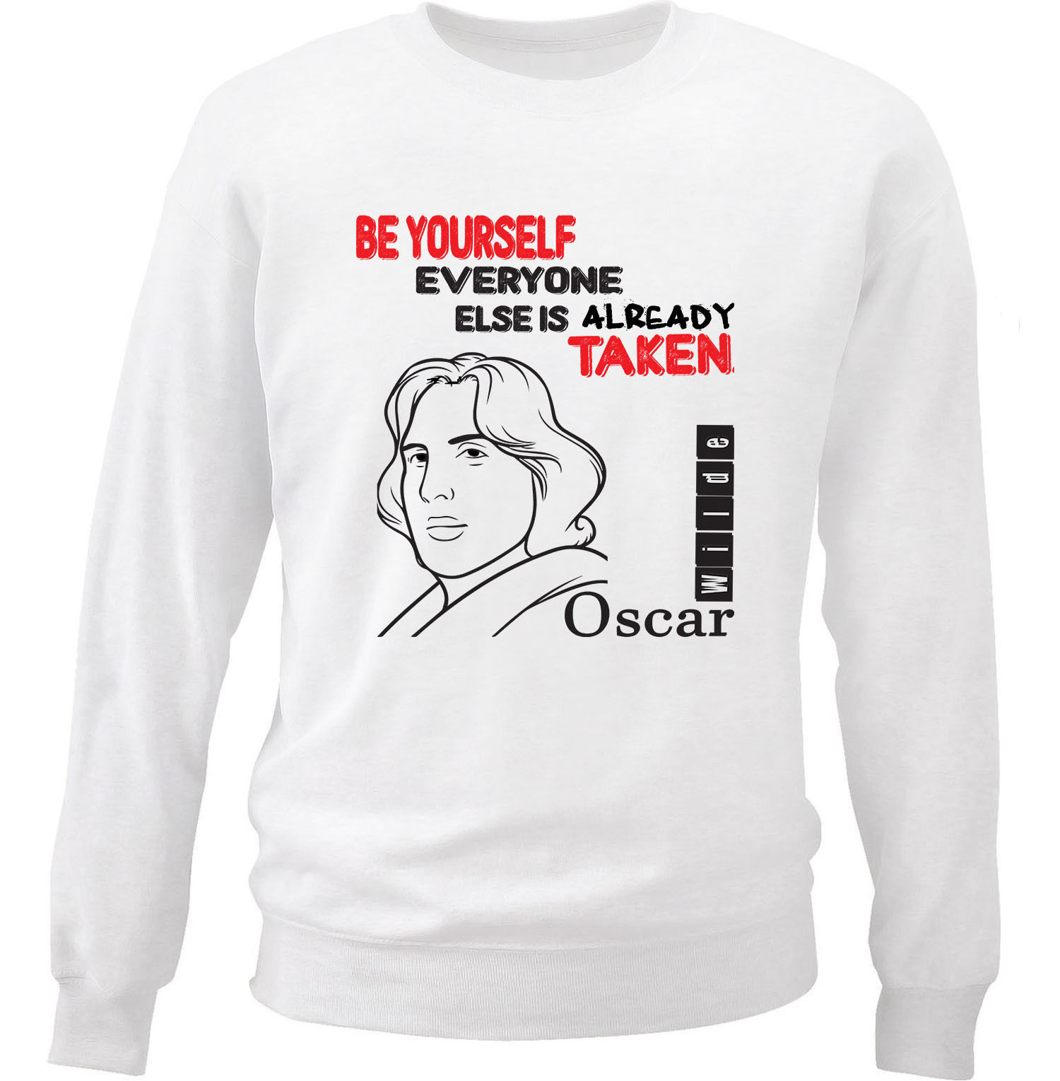 Be Yourself Sweatshirt AL28AG0