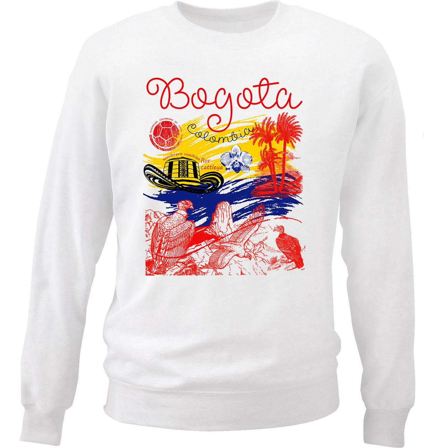 Bogota Colombia Sweatshirt AL28AG0