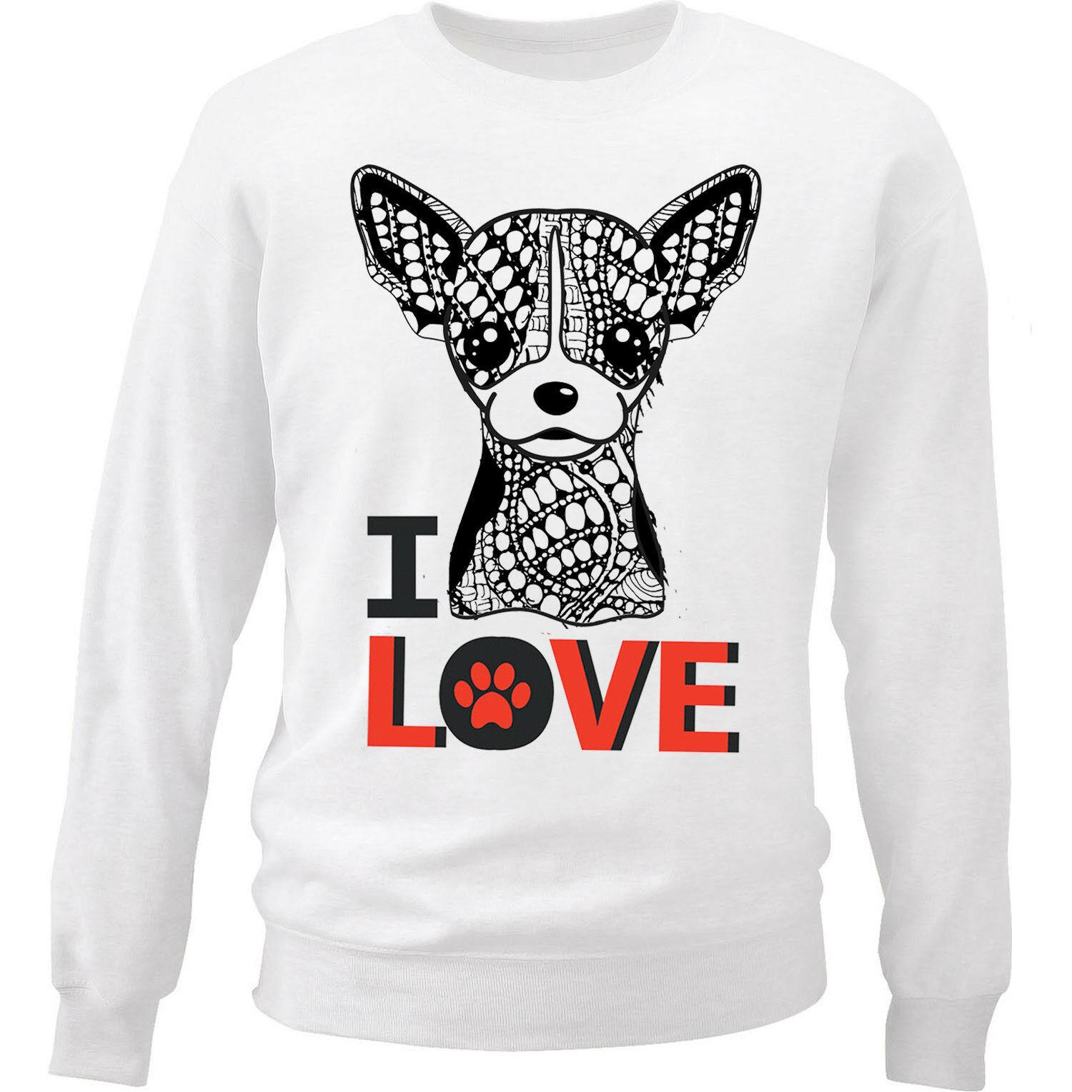 Chihuahua I Love Sweatshirt AL28AG0