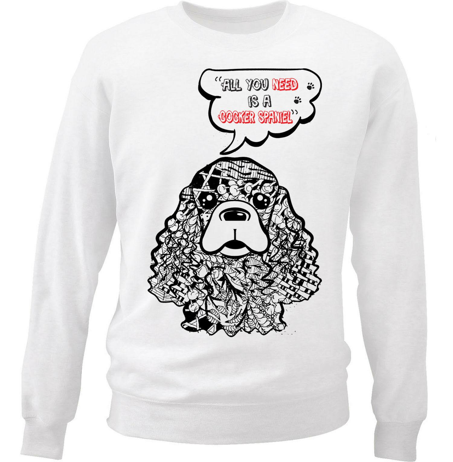 Cocker Spaniel Sweatshirt AL28AG0
